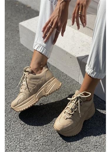 İnan Ayakkabı BAYAN SNEAKER Ten